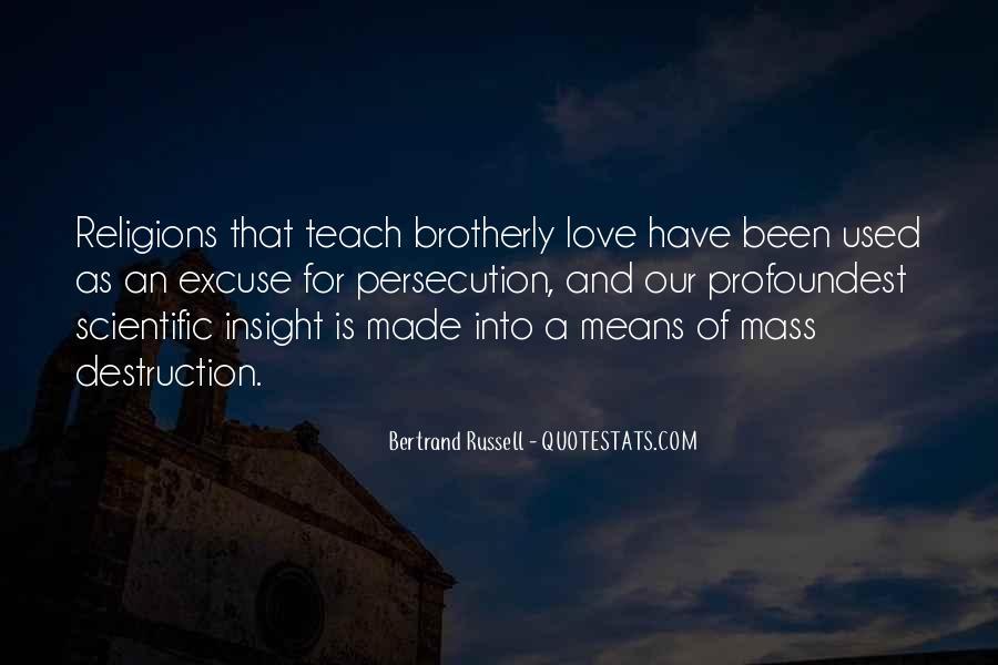 Destruction Love Quotes #1373795