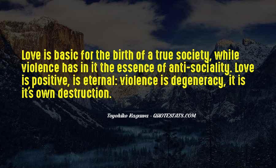 Destruction Love Quotes #1385406