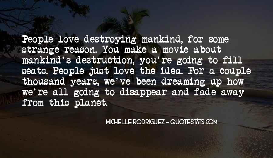 Destruction Love Quotes #152447