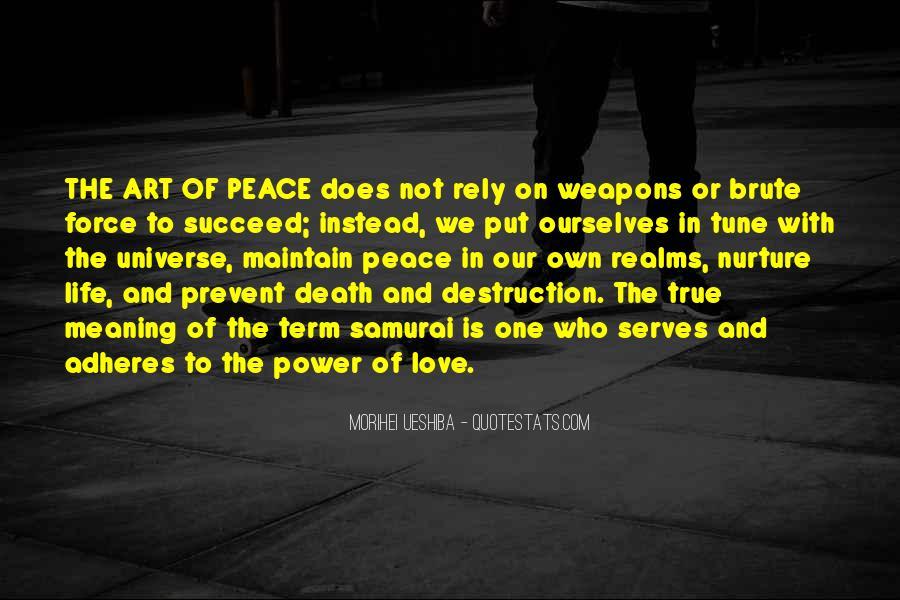 Destruction Love Quotes #1587156
