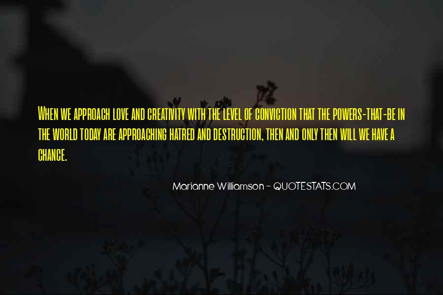 Destruction Love Quotes #1595492