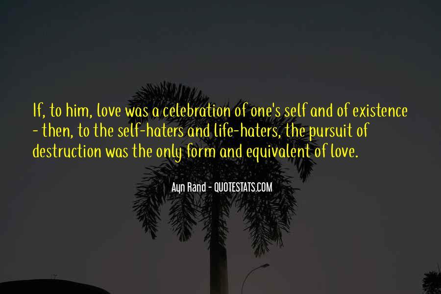 Destruction Love Quotes #1601568