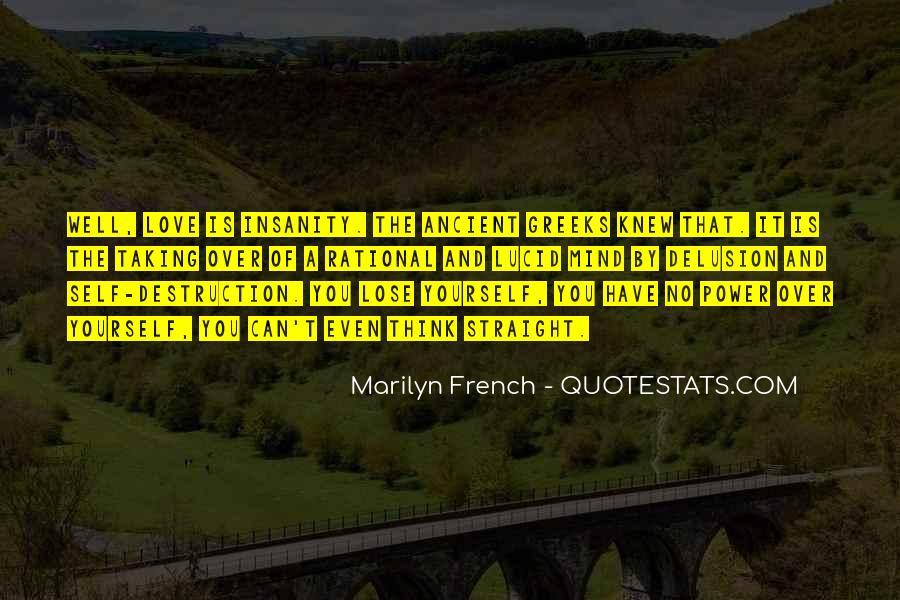 Destruction Love Quotes #1662010