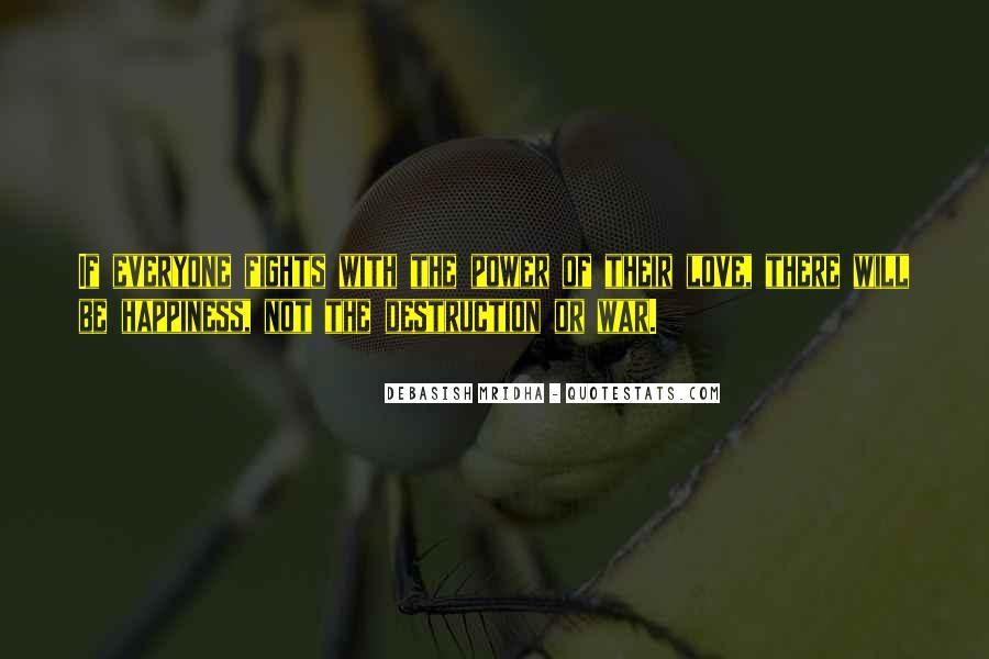 Destruction Love Quotes #1736316