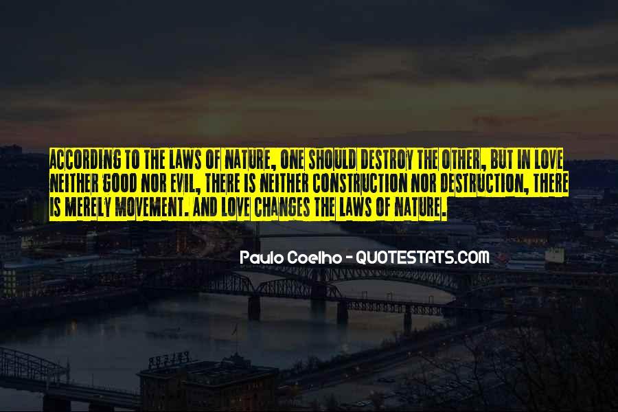 Destruction Love Quotes #242912
