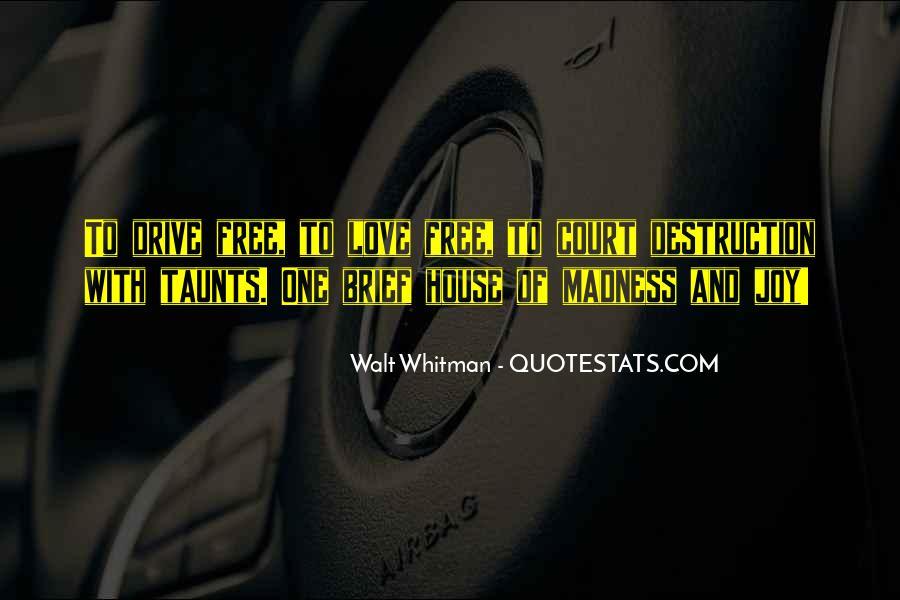 Destruction Love Quotes #26810