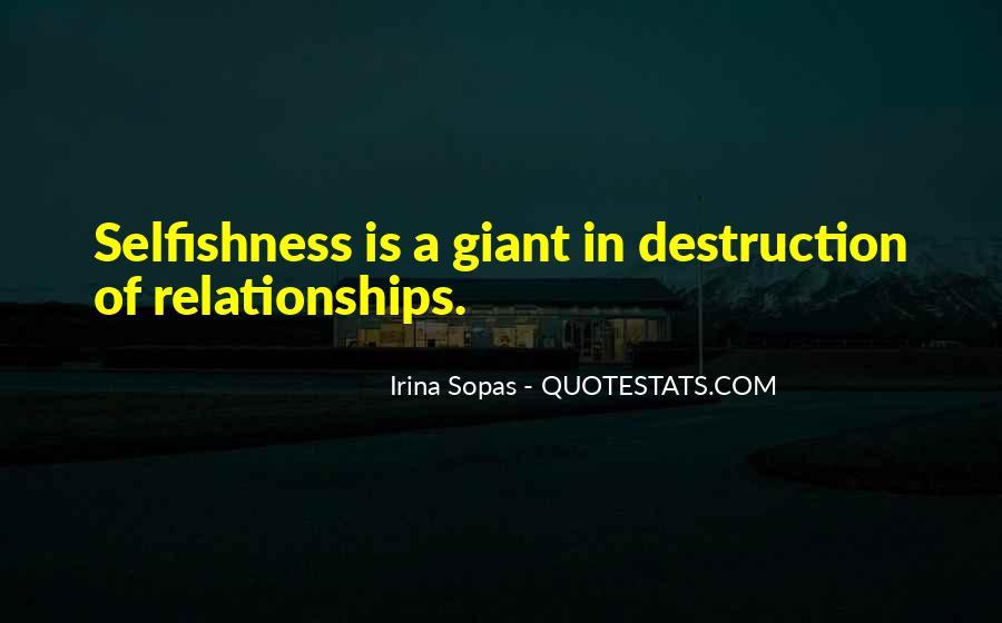 Destruction Love Quotes #273954