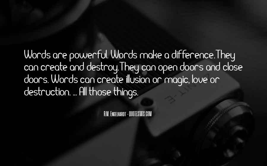 Destruction Love Quotes #364039