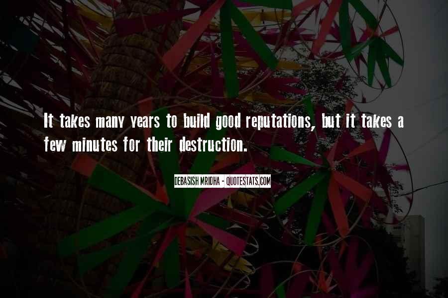 Destruction Love Quotes #519219