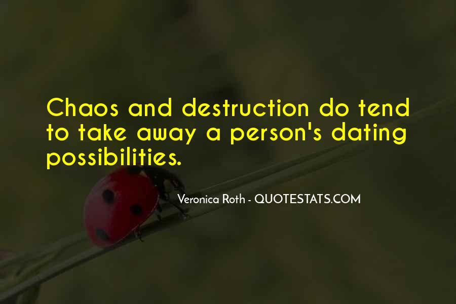 Destruction Love Quotes #834408