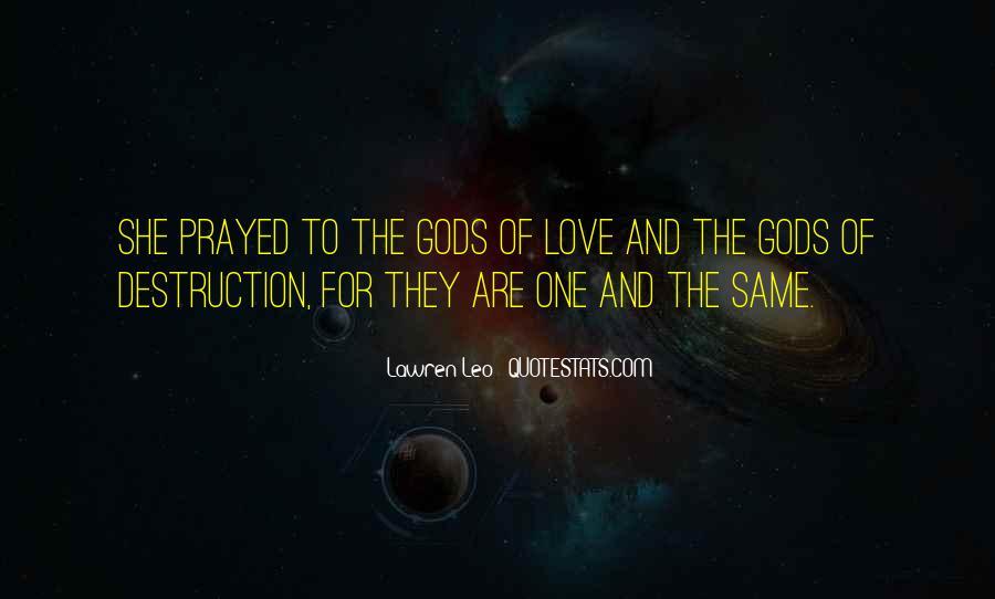 Destruction Love Quotes #969956