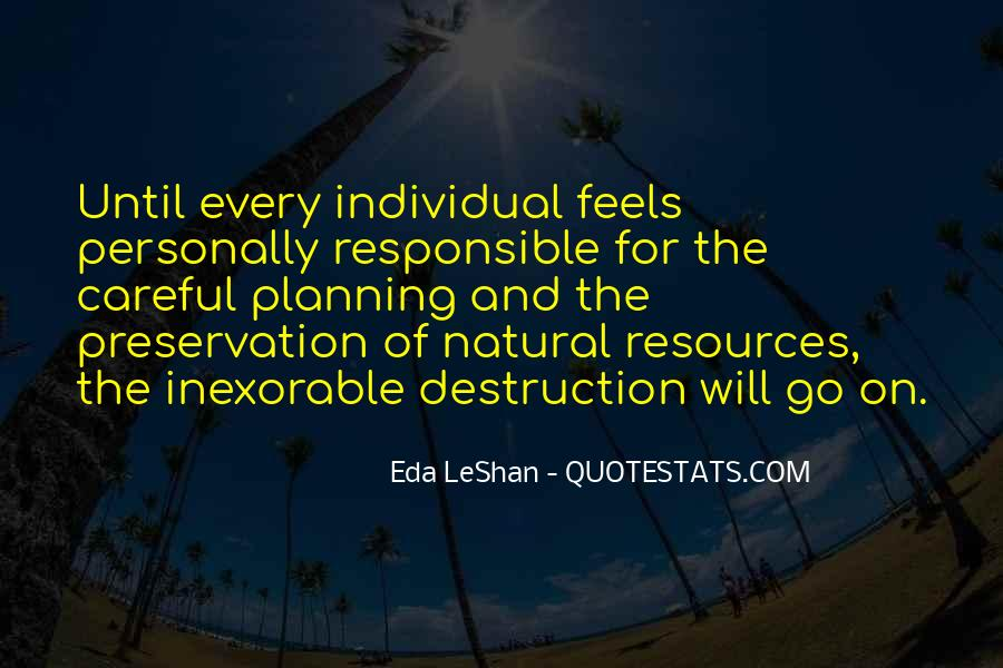 Destruction Of The Environment Quotes #1071167