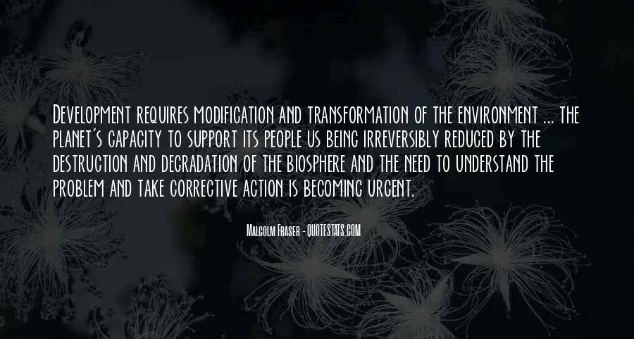 Destruction Of The Environment Quotes #1246068