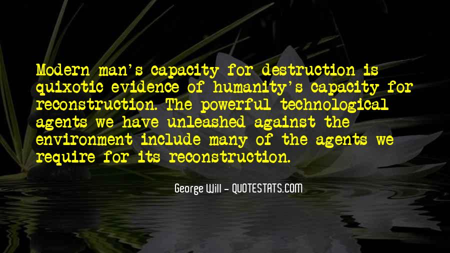 Destruction Of The Environment Quotes #1306091