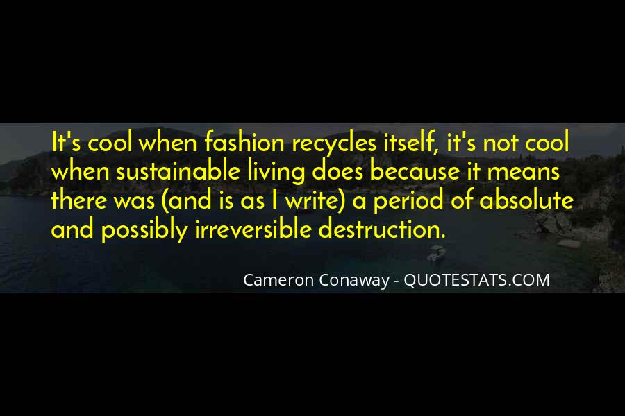 Destruction Of The Environment Quotes #1332247