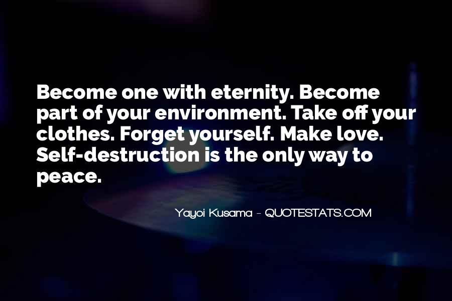 Destruction Of The Environment Quotes #96156