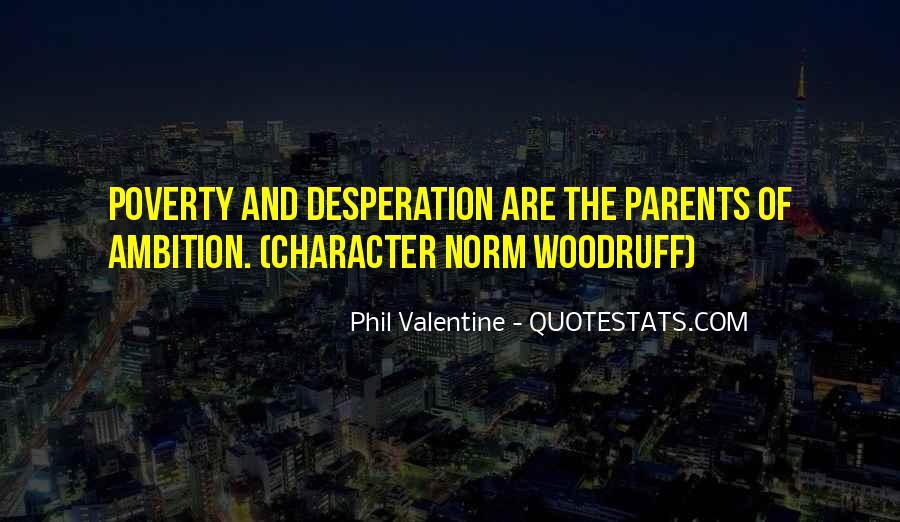 Determination And Desperation Quotes #829014