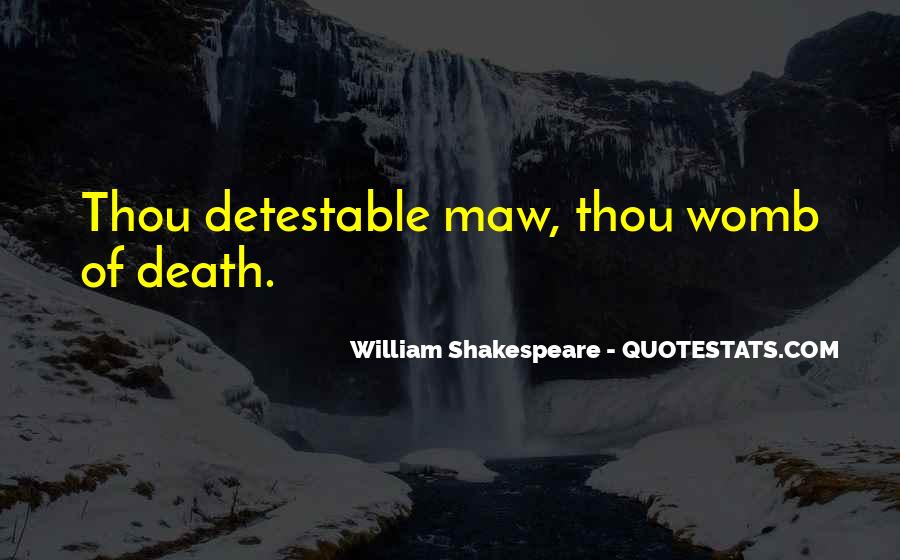 Detestable Quotes #1091134