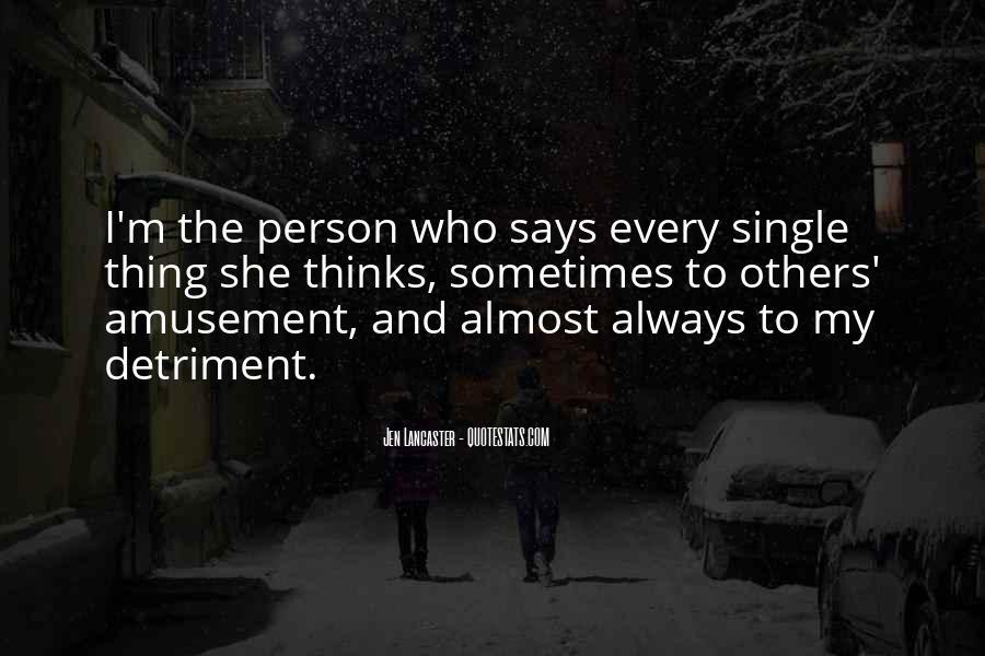 Detriment Quotes #1035513