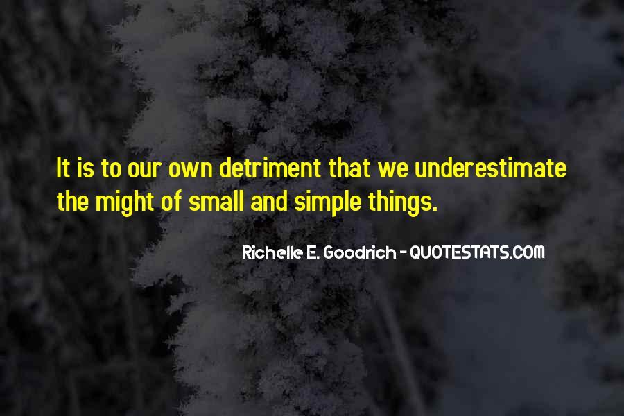 Detriment Quotes #114814