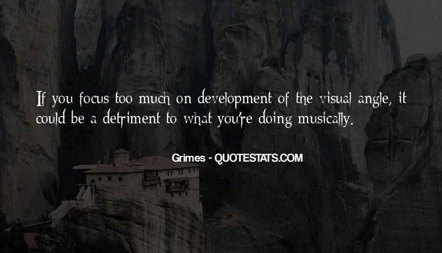Detriment Quotes #1219631