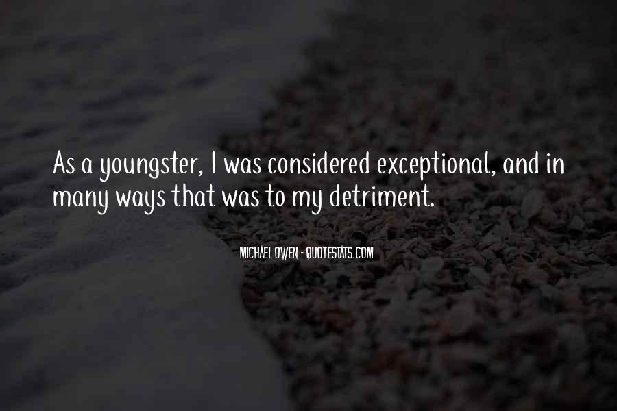Detriment Quotes #1374549