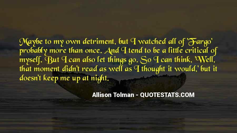 Detriment Quotes #1439728