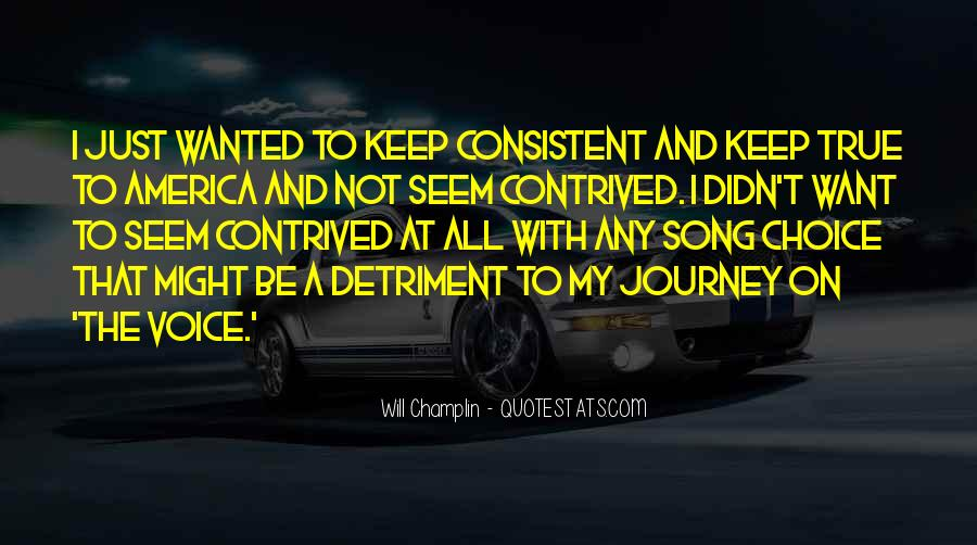 Detriment Quotes #1701672