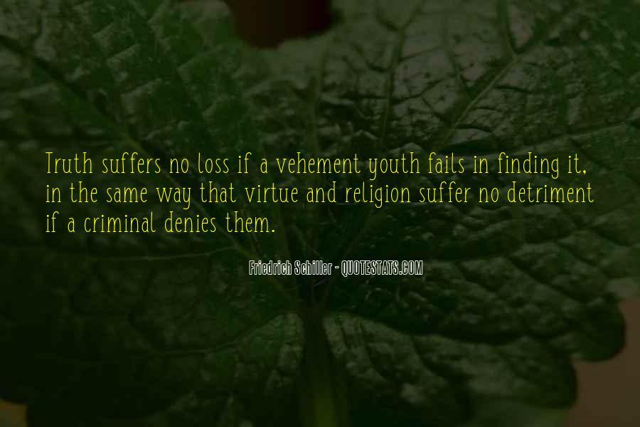 Detriment Quotes #1816722