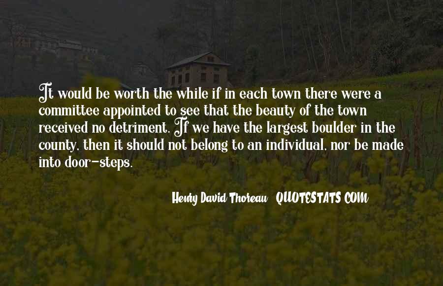 Detriment Quotes #183397