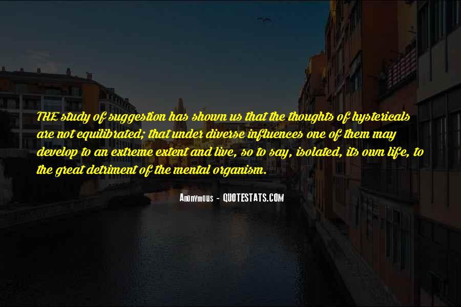 Detriment Quotes #1874794
