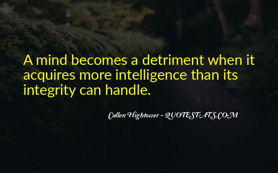 Detriment Quotes #220088