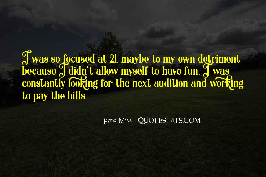Detriment Quotes #279216