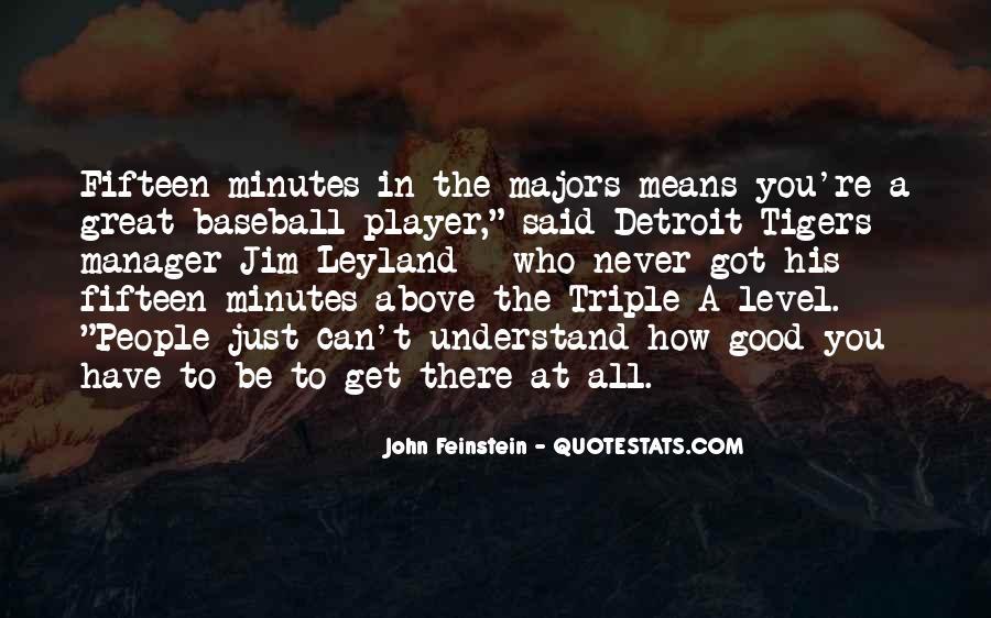 Detroit Tigers Baseball Quotes #1542310