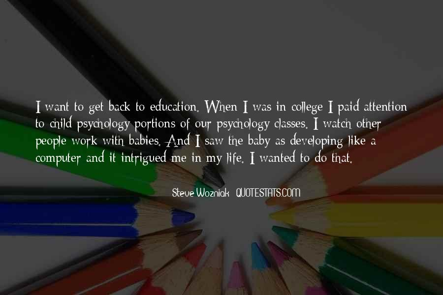 Developing The Whole Child Quotes #1426348