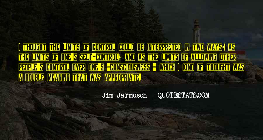 Quotes About Jarmusch #1702040