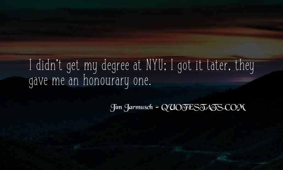Quotes About Jarmusch #1855951