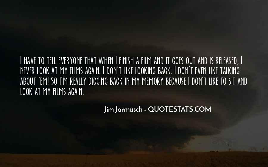 Quotes About Jarmusch #828939