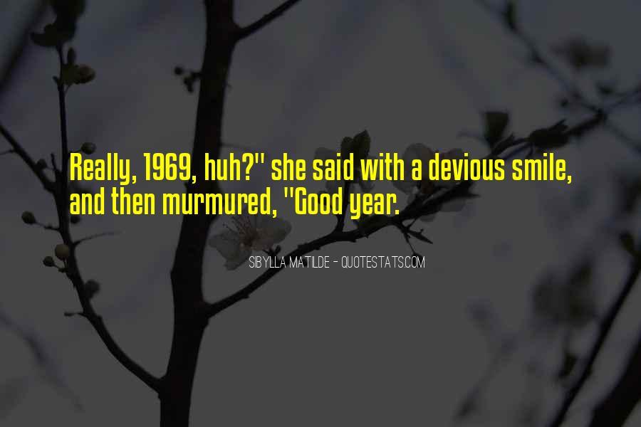 Devious Smile Quotes #324457