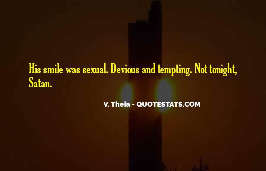 Devious Smile Quotes #790217