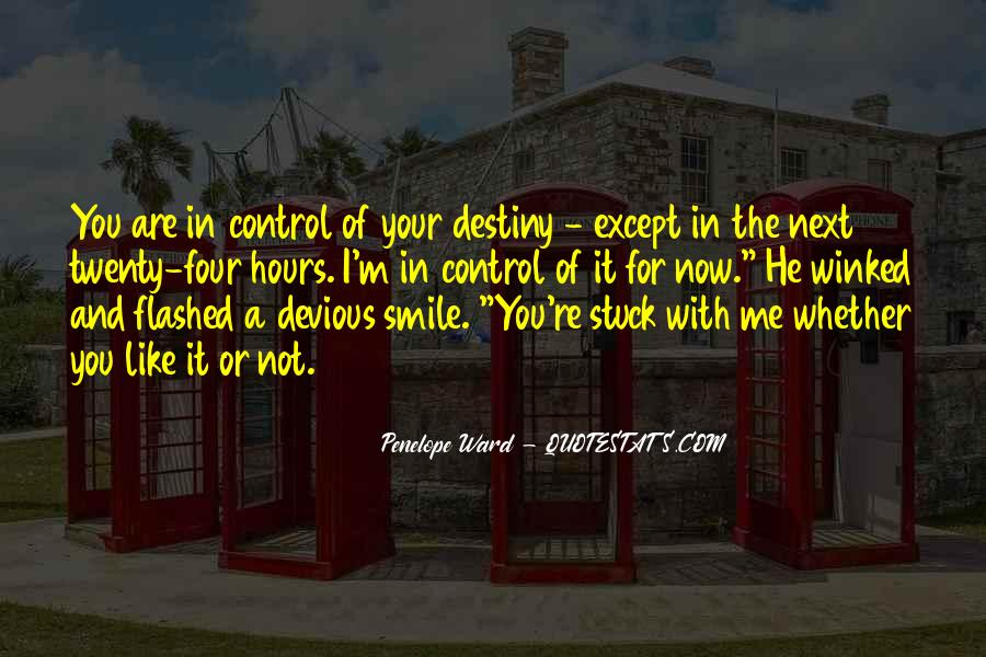 Devious Smile Quotes #852409