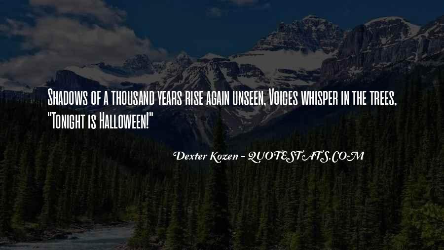 Dexter Kozen Halloween Quotes #647272