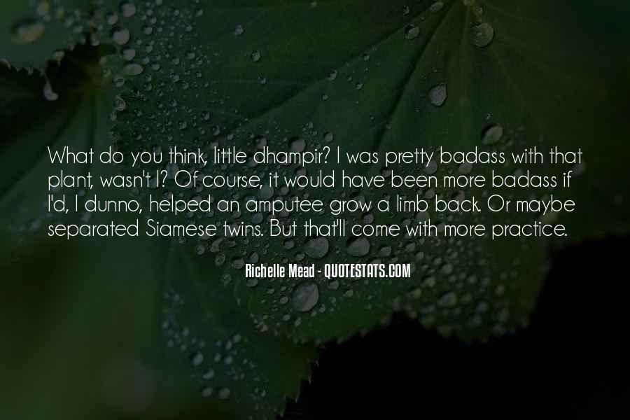 Dhampir Quotes #1632518