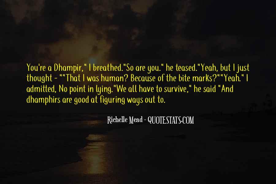 Dhampir Quotes #1808553