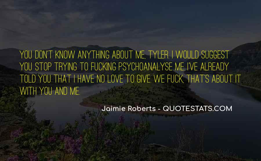 Quotes About Jaimie #1031359