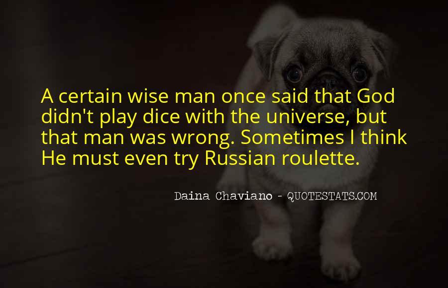 Dice Einstein Quotes #1187550