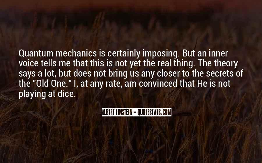 Dice Einstein Quotes #897345