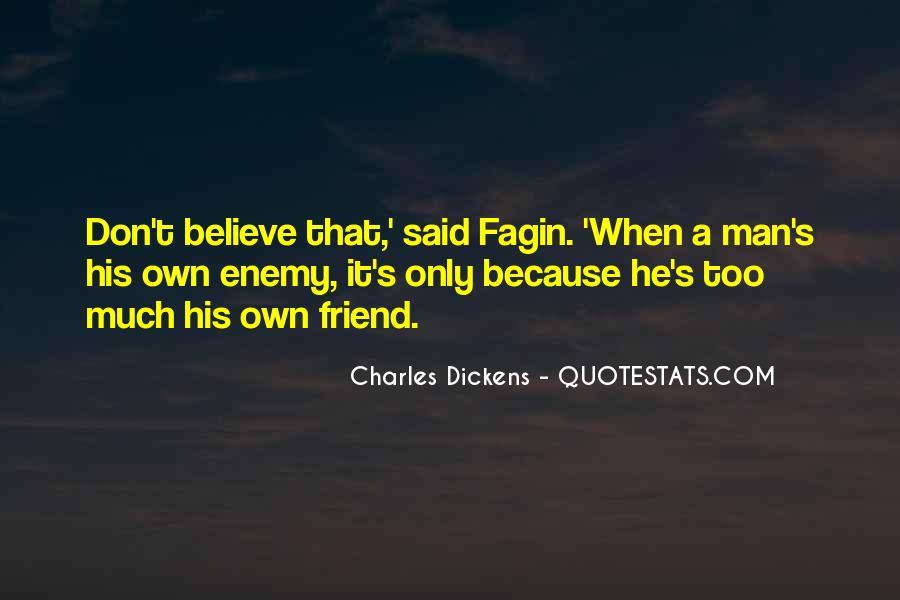 Dickens Fagin Quotes #1337261