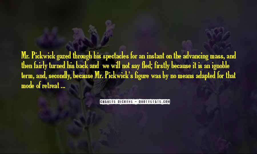 Dickens Pickwick Quotes #1142818
