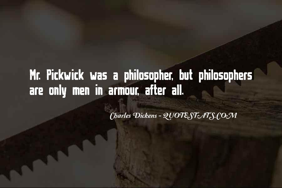 Dickens Pickwick Quotes #1775943